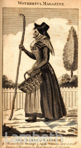 'OLD NANNY OF LAMBETH', FRUIT SELLER