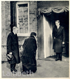 KING GEORGE'S VISIT TO THE DUCHY ESTATE, KENNINGTON