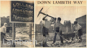 LOLLARD ADVENTURE PLAYGROUND, LAMBETH