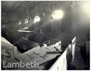 BOMB DAMAGE, ST.MARK'S CHURCH, KENNINGTON
