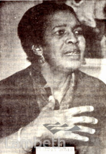 CLAUDIA JONES, BLACK LEADER AND JOURNALIST