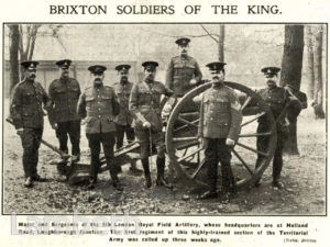 'BRIXTON SOLDIERS OF THE KING', LOUGHBOROUGH JUNCTION