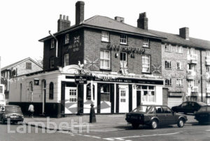 BRICKLAYERS ARMS, CARNAC STREET, WEST NORWOOD