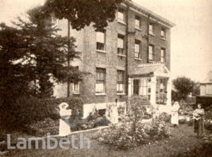 MATERNITY HOME, WEST NORWOOD