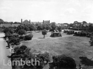 STOCKWELL ORPHANAGE:QUADRANGLE, SUMMER-HOUSE AND  BUILDINGS