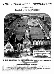 STOCKWELL ORPHANAGE: AERIAL VIEW