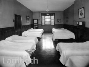 STOCKWELL ORPHANAGE, GIRLS' DORMITORY