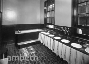 STOCKWELL ORPHANAGE: GIRLS' HOUSE BATHROOM