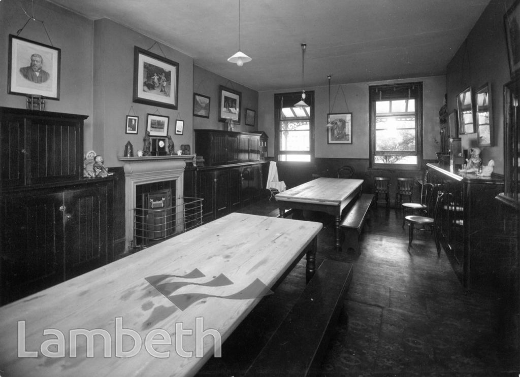 STOCKWELL ORPHANAGE: GIRLS' HOUSE DINING ROOM
