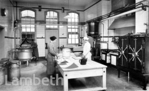 STOCKWELL ORPHANAGE: BOYS' KITCHEN