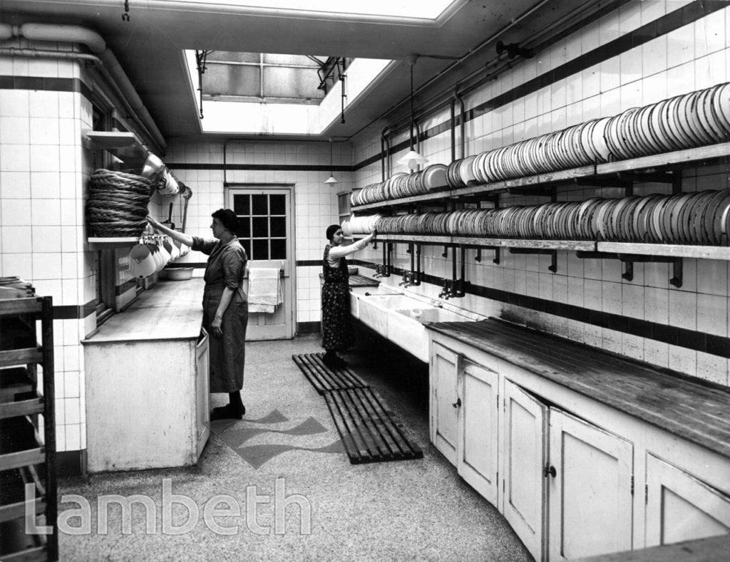 STOCKWELL ORPHANAGE: BOYS' KITCHEN SCULLERY