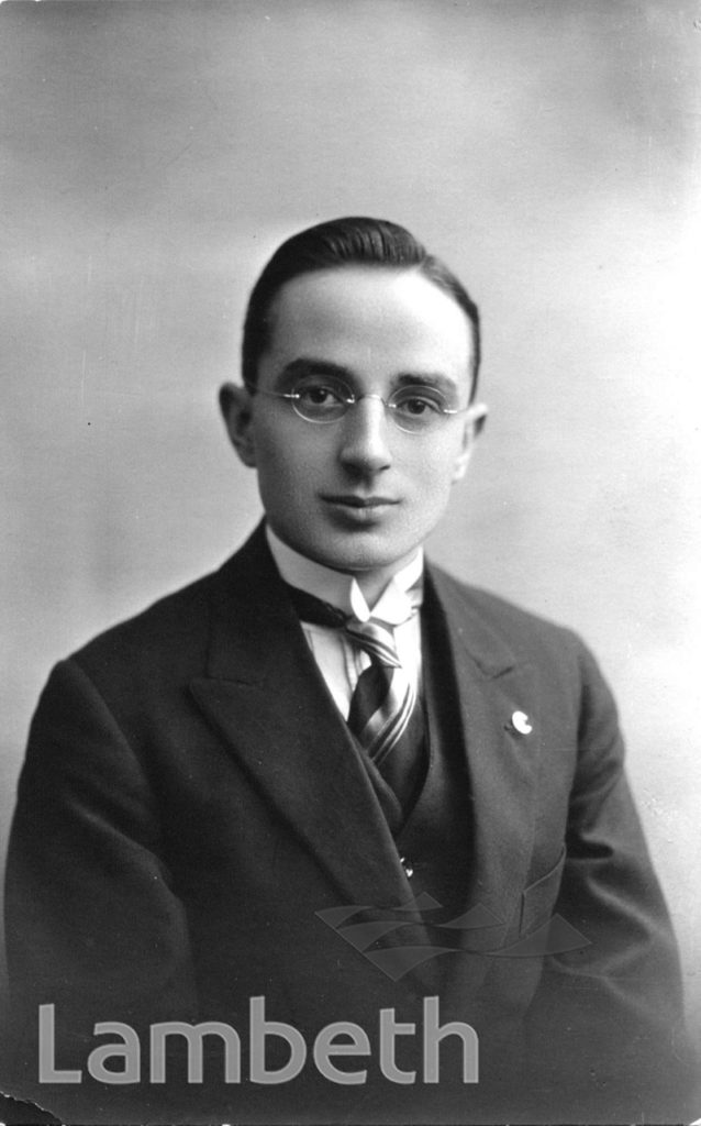 STOCKWELL ORPHANAGE: P.H.R. HIDE, SECRETARY