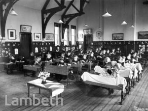STOCKWELL ORPHANAGE: JUNIOR GIRLS' CLASSROOM