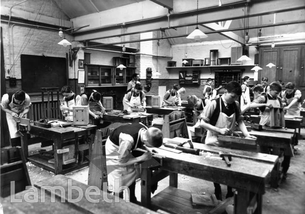 STOCKWELL ORPHANAGE: CARPENTRY CLASS