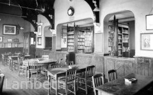 STOCKWELL ORPHANAGE: LIBRARY