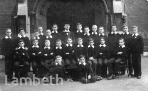 STOCKWELL ORPHANAGE: BOYS' SENIOR CLASS