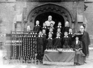 STOCKWELL ORPHANAGE: BOYS' CHOIR AND BELLRINGERS