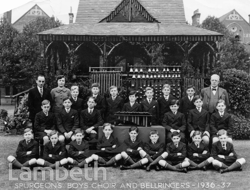 STOCKWELL ORPHANAGE: BOYS' CHOIR AND BELLRINGERS