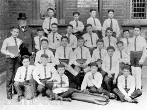 STOCKWELL ORPHANAGE: BOYS' CRICKET TEAM