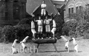 STOCKWELL ORPHANAGE: BOYS' GYMNASTIC DISPLAY