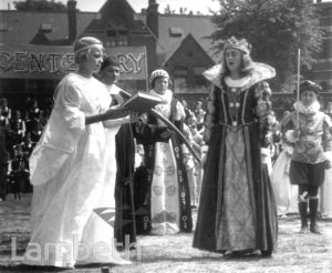 STOCKWELL ORPHANAGE: PAGEANT CELEBRATING FOUNDER'S DAY