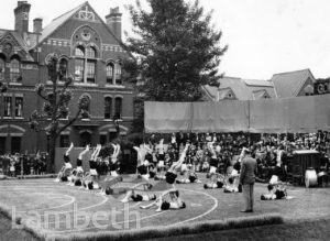 STOCKWELL ORPHANAGE: GYMNASTICS, FOUNDER'S DAY CELEBRATIONS