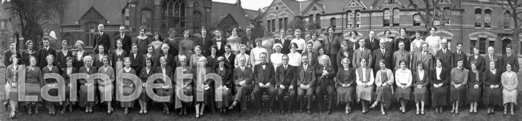 STOCKWELL ORPHANAGE: STAFF GROUP PHOTOGRAPH