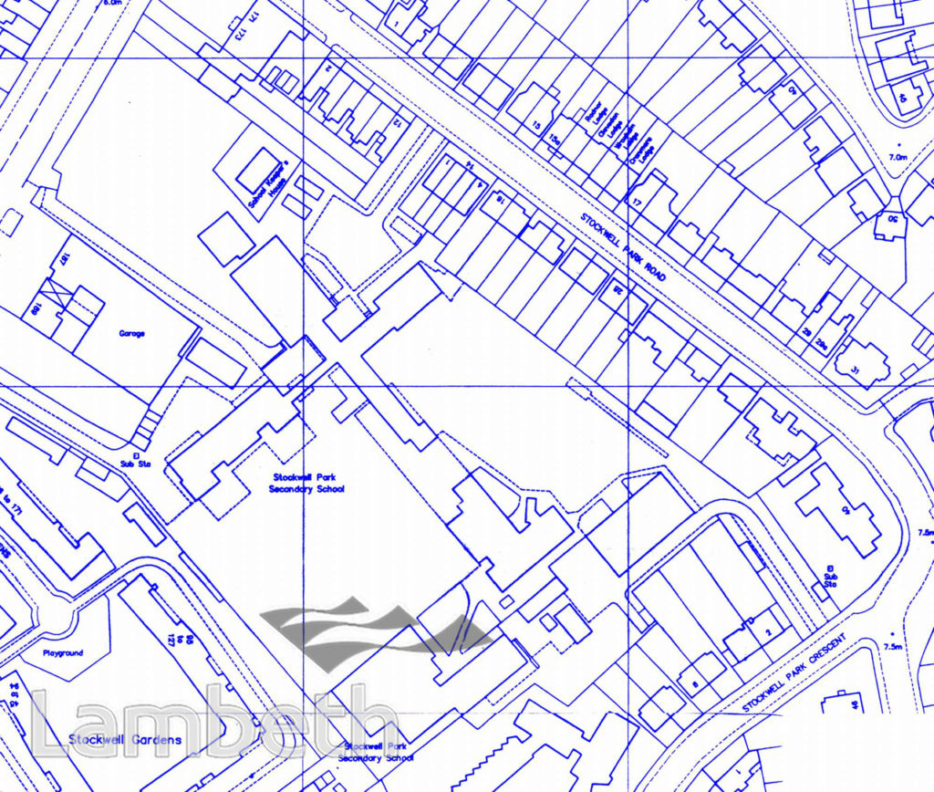 STOCKWELL ORPHANAGE: SITE PLAN