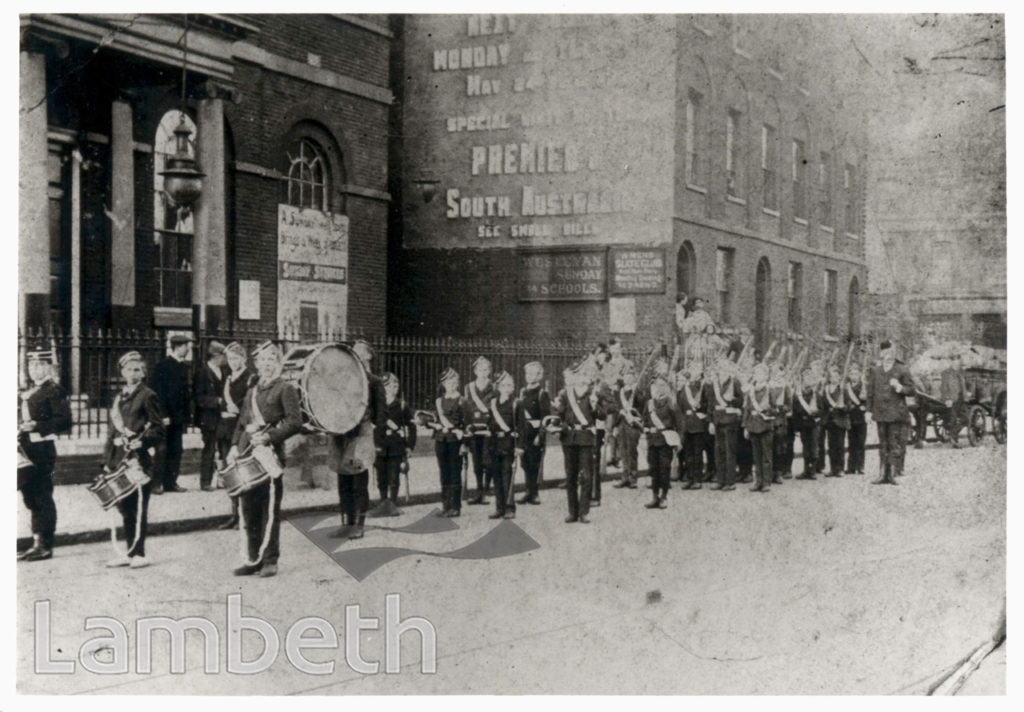 BOYS' BRIGADE BAND, LAMBETH MISSION