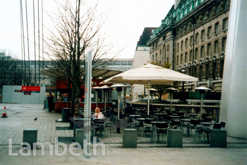 CAFE BY THE LONDON EYE, SOUTH BANK, WATERLOO