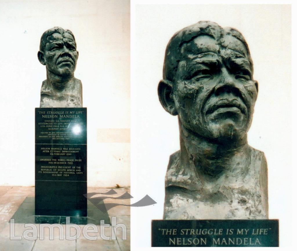 STATUE OF NELSON MANDELA, SOUTH BANK, WATERLOO
