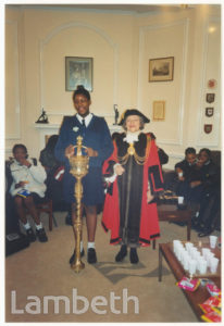 COUNCILLOR DAPHNE HAYES-MOJON,  MAYOR OF LAMBETH