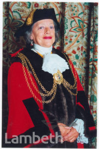MAYOR OF LAMBETH, COUNCILLOR DAPHNE HAYES-MOJON