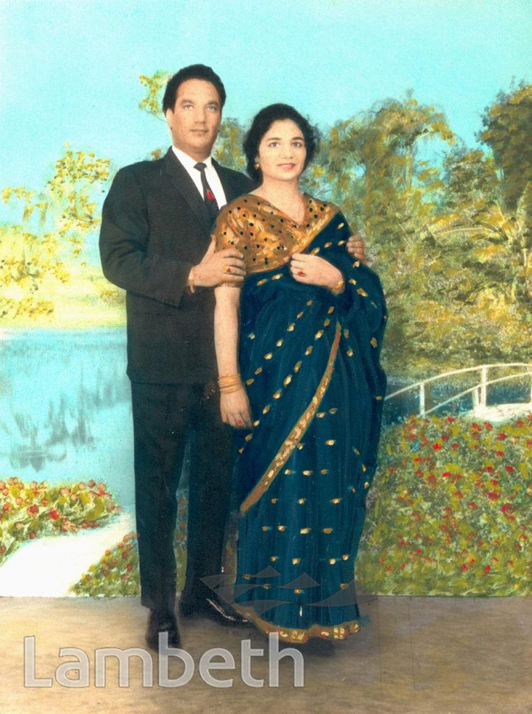 PORTRAITURE: ASIAN COUPLE