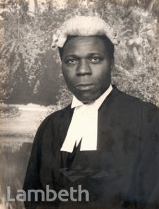 PORTRAITURE: BARRISTER