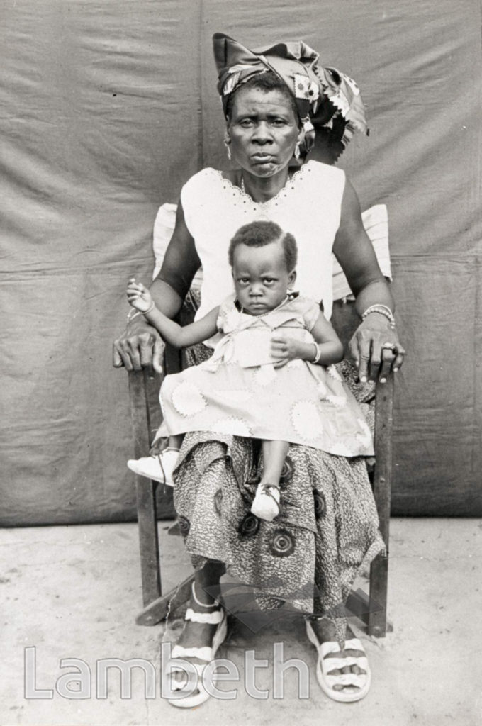 PORTRAITURE: NIGERIAN WOMAN AND CHILD