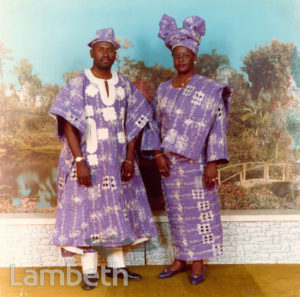 PORTRAITURE: NIGERIAN COUPLE