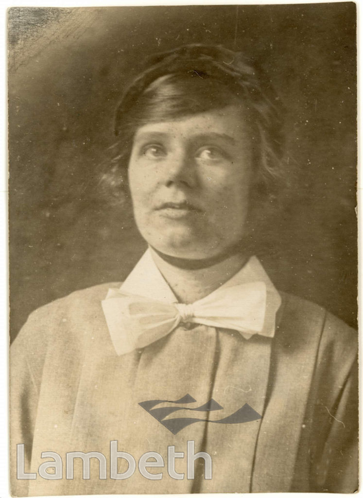 SISTER ANNE NEWSAM, THE LAMBETH MISSION, LAMBETH ROAD