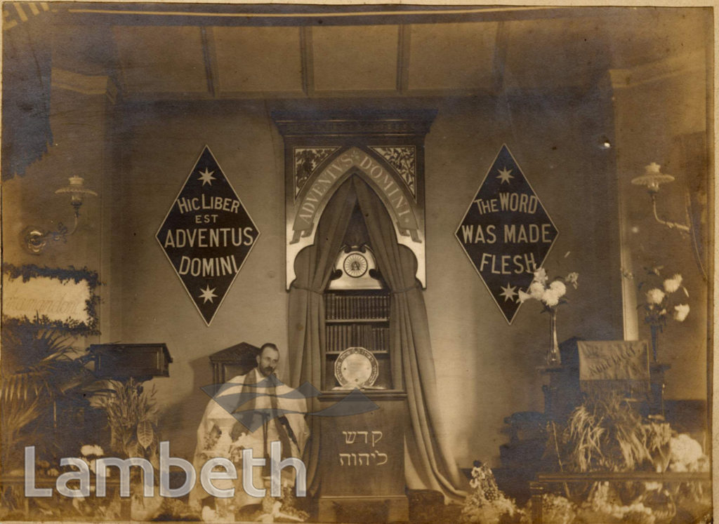 MICHAEL CHURCH, BURTON ROAD, BRIXTON NORTH