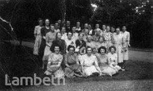 STAFF AT ST MARTIN'S IN THE FIELD GIRLS SCHOOL, TULSE HILL
