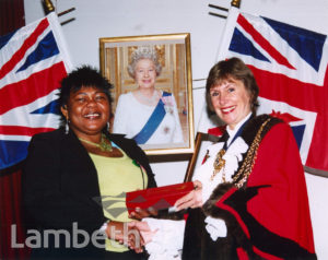 CITIZENSHIP AWARD CEREMONY, LAMBETH TOWN HALL, BRIXTON