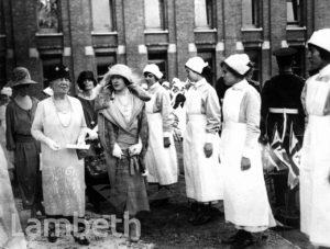 SOUTH LONDON HOSPITAL, CLAPHAM COMMON SOUTH SIDE, CLAPHAM