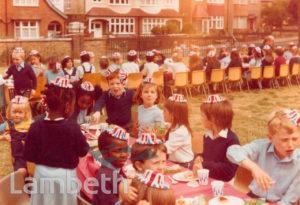 PUPILS AT ST LUKE'S SCHOOL, WEST NORWOOD