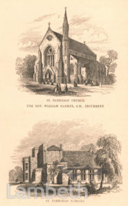 ST BARNABAS' CHURCH AND SCHOOLS,