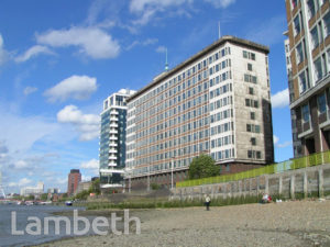 TINTAGEL HOUSE, ALBERT EMBANKMENT, VAUXHALL