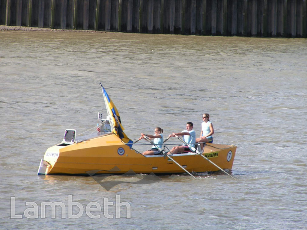 GREAT RIVER RACE, RIVER THAMES, VAUXHALL