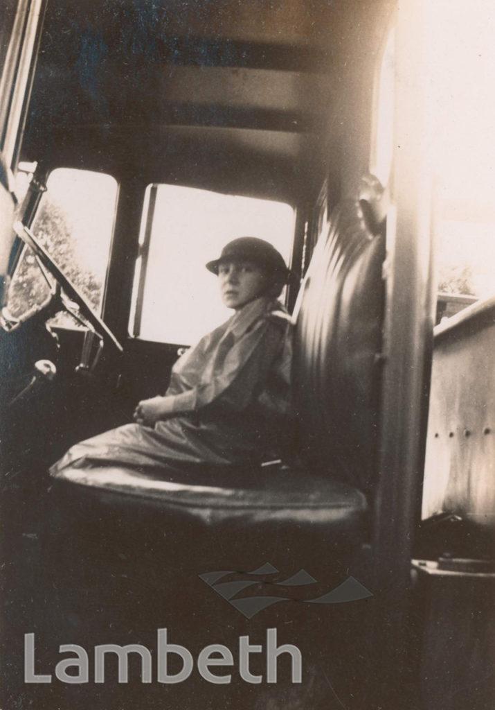 BOY IN FIRE TRUCK: WORLD WAR II