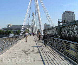 HUNGERFORD BRIDGE, RIVER THAMES