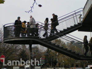 FOOTBRIDGE, BELVEDERE ROAD, WATERLOO