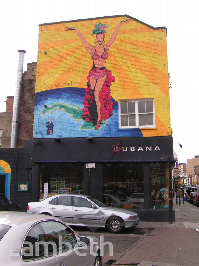 CUBANA, LOWER MARSH, WATERLOO
